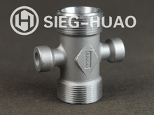 Investment Casting Stainless Steel Cross for Pipe Fittings 316L