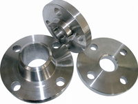 welding-on collar titanium flange