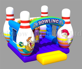 RB01037(4x5m)Inflatables Bowling Bouncer Inflatable Small Bouncer for Kids