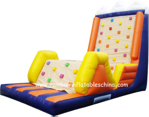 RB13004(6x3x4.5m) Inflatable Climbing Rock Game/Inflatable Climbing Mountain Game