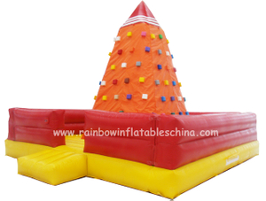RB13007(6x6x4.5m) Inflatable Climbing Mountain/Inflatable Climbing Wall for Sale