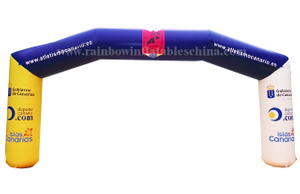 RB21026(8x4m) Inflatable Company Event Arch/ Inflatable Customized Arch for Commercial Use