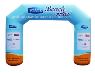 RB21023(5x3.5x1m) Inflatable Tourism Welcome Arch Customized High Quality Arch