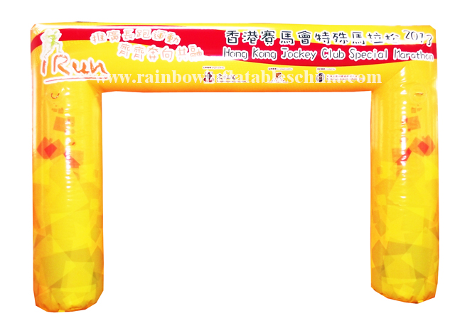 RB21031(3.65x2.4m) Inflatable Race Entrance or Destination Arch/Inflatable Sponsor Customized Arch