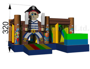 RB01023(4x4.5m)Inflatables pirate Bouncer jumpping for Kids
