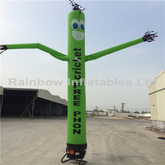 RB23017(5.5mh)Inflatable green air dancer for sale