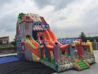 RB6071(13.5x6m)Inflatable Giant Colorful High Slide hot sale