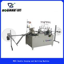 WKH1 Double Serging and Quilting Machine