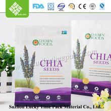 Air Tight Moisture Resistant Chia Seed Packaging Bag