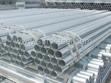 Hot-Dip Galvanized Round Steel Pipe