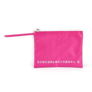 Canvas Zipper Travel Pen File Document Pouches