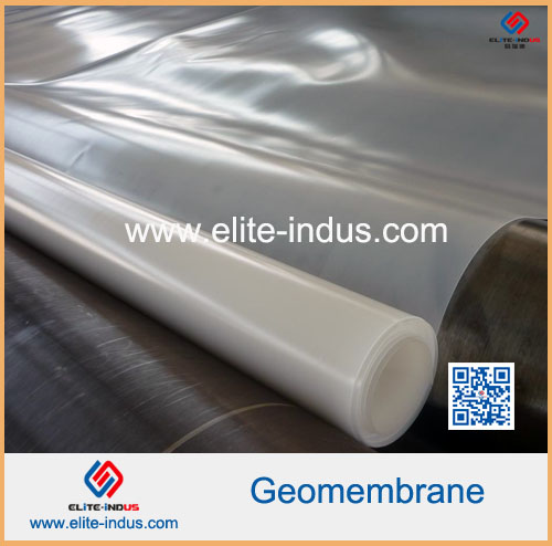 Géomembrane LLDPE surface lisse