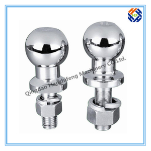 Trailer Ball by Forging CNC Machining Process