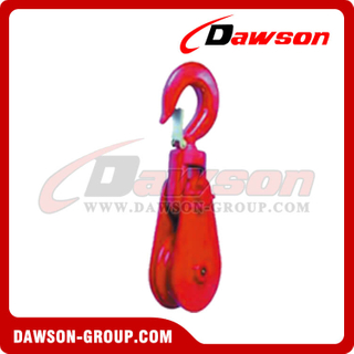 DS-B062 Tipo de liga tipo Champion Snatch Block With Hook