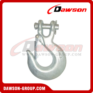 G70 e G43 Forged Clevis Slip Hook com trava para Lashing