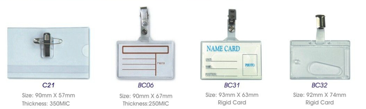Name Badge Holder(C21/BC06/BC31/BC32)