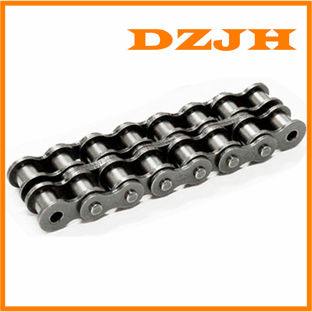Heavy duty double strand roller chain