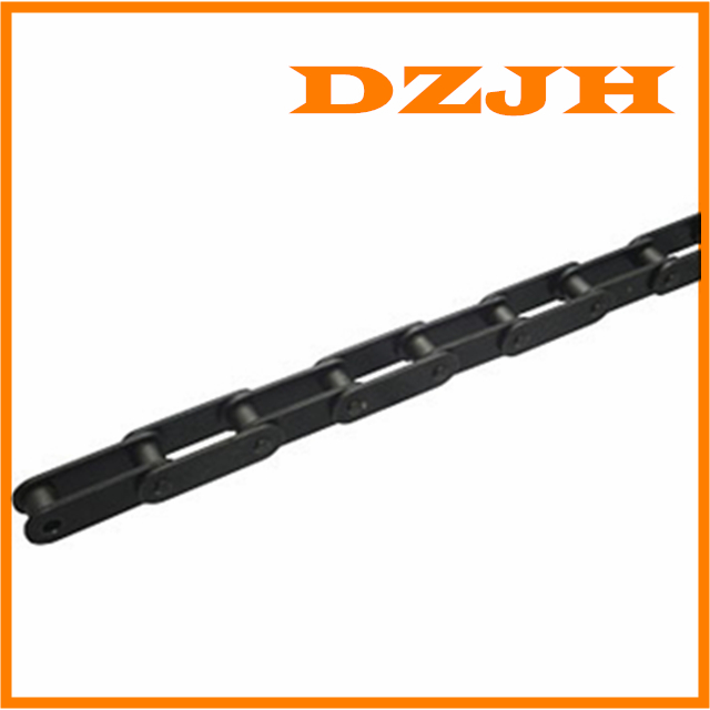 Double pitch conveyor chains