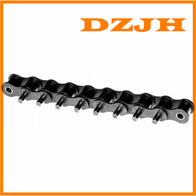Conveyor chains with special extended pins
