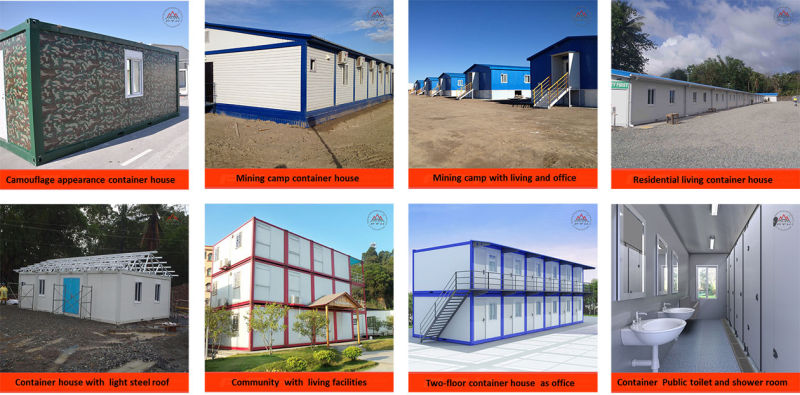 Container house's application