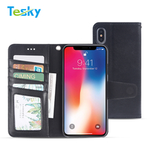 New Arrival 2018 Flip Leather Wallet Phone Case for iPhone 9