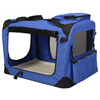 Pets Home Dog Crate Wholesale Oxford pet cages carriers house