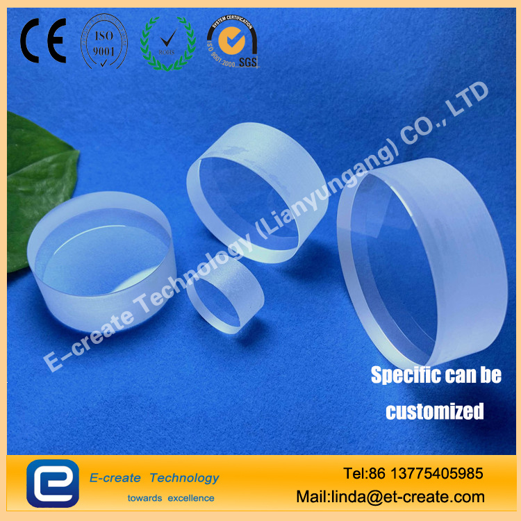 Sapphire light guide block, sapphire coating filter, sapphire lens for laser beauty instrument