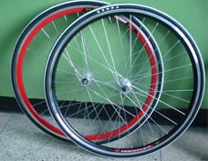 Fix gear bike wheelsets