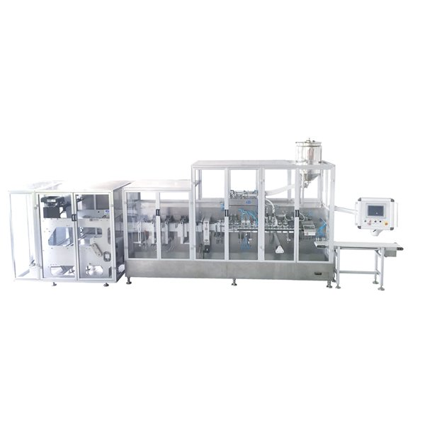 die cut stand-up pouch packing machine (Allen-Bradley System)