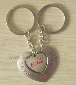 Promotional Gift Custom Logo Zinc Alloy Metal Key Chain