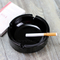Promotional Gift Black Glass Ash Tray