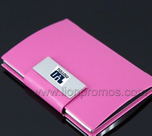 Tullow Oil LogoOffice Lady PU Leather Business Card Holder