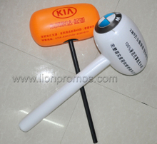 Car Marketing Event Inflatable Hammer Toy