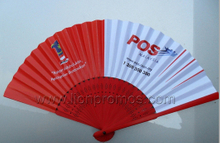 Public Campaign Election Gift Traditional Chinese Bamboo Paper Fan