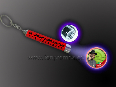 Nigerial Presidential Party Election Campaign Vote Gift Projector Flashlight