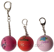 Tourism Promotional GIft Golf Ball Key Ring