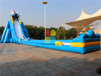 RB6082(54x15x14m)Inflatable Huge Water Slide for sale hot sale