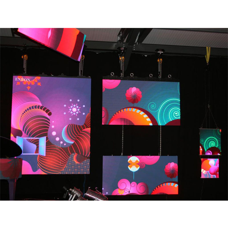 P3.91 Interior Concierto de Alta Etapa de Refresco Led Video Wall