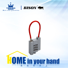 Zinc Alloy Combination Padlock WA414-3
