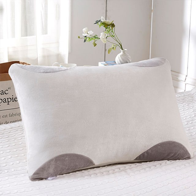 Pillow Cover Bed Pillow Knit Fabric L Zipper U0026 Traditional Design Cool Fiber