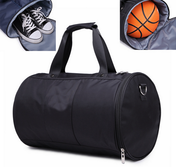 6a24acaf5a Custom Outdoor Sports Duffel Gym Bag With Shoes And Basketball Compartments