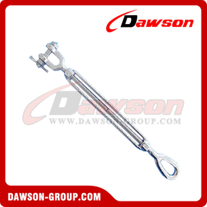 Aço inoxidável US Type Turnbuckle Eye & JAW