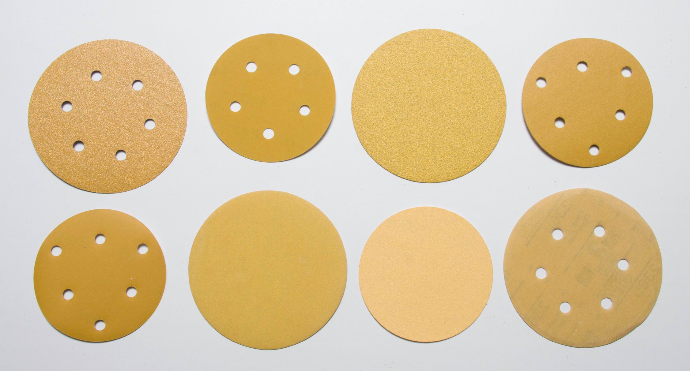 Paint Removal using 150mm Red/White/Yellow Sanding Disc with hole