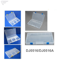 DJ0516 Large Size Transparent Plastic Storage Box