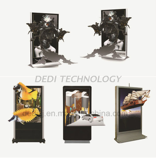 Dedi 49′′ Commercial Advertising Display Naked Eye 3D LCD Video Display