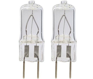 Halogen Light Bulbs 20W Jc Type 12V G4 Base (2-Pin) Low Voltage 12 Volts 20 Watt