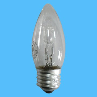 C35 220-240V 18W Candle E14 Halogen Lamp