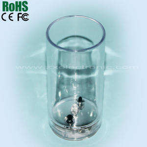 LED light up glass,flashing led shot glass