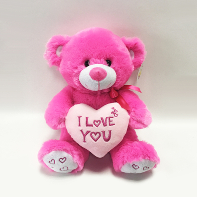 Rose Red Teddy Bear Stuffed Plush Valentine Toy Teddy Bear