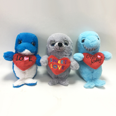 Lovely Soft Material Stuffed Sea Plush Animal Gift Toys